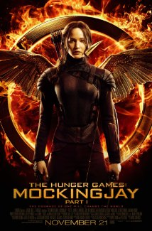 Affisch f�r The Hunger Games - Mockingjay Part 1 p� Bio i Kiruna p� Kiruna Folkets Hus